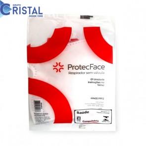 MASCARA 604(S)PFF2/N95 SEMI FACIAL BRANCA SEM VALVULA - PRO-TECH .